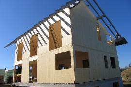 Holzhäuser Aufstockung